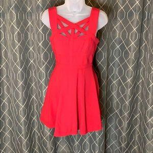 Bcbg Maxazria Yasminka Corset A-Line Dress.